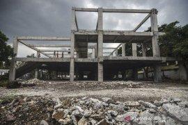 Pembangunan gedung Creative Center pemprov Jabar dihentikan sementara