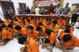 Ungkap kasus kriminal di Polresta Kediri