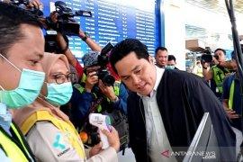 Erick Thohir berharap Indonesia tak masuk daftar negara kluster Corona