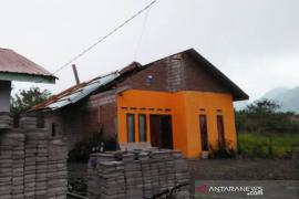 Dua rumah diterjang puting beliung di Bener Meriah