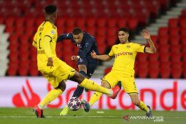 PSG ke perempat final Liga Champions berkat kemenangan 2-0 atas Dortmund