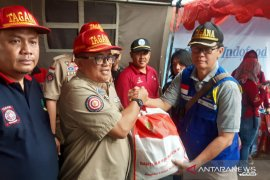 Kemensos salurkan paket bantuan untuk korban bencana gempa di Sukabumi