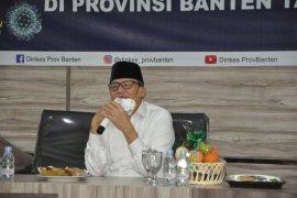 Gubernur Wahidin nyatakan empat warga Banten positif terkena Covid-19