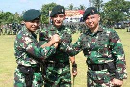 Pangdam I/BB pimpin sertijab Danyonif Raider 100/PS