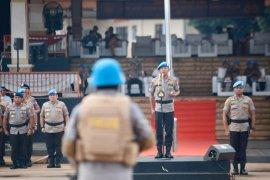 Kapolri janjikan reward semangati pasukan perdamaian Polri