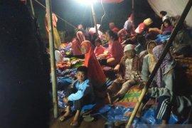 Warga mengungsi ke gunung karena gempa magnitudo 5,0 mengguncang  Morowali