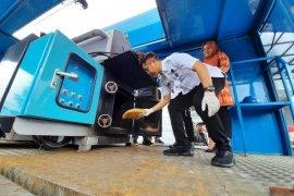 BNN Banten musnahkan barang bukti  ganja 100 kilogram