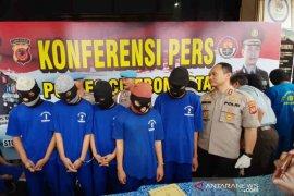 Polisi Cirebon Kota bekuk enam pencuri kendaraan bermotor