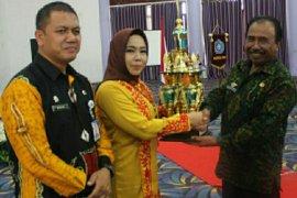 PKK Muara Komam juara umum HKG tingkat Kabupaten Paser