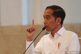 Presiden Jokowi minta menteri beritahu perusahaan tidak lakukan PHK