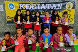 118 atlet ikuti KOSN 2020 Kecamatan Hantakan