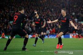 Atletico runtuhkan Anfield dan menang 3-2 atas Liverpool