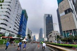 Potensi hujan siang hari di Jakarta