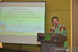Balitbangda Bekasi sosialisasikan Pabrik Kampoeng kepada BUMDes