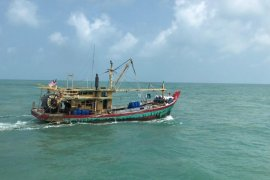 KKP tangkap kapal asing pencuri ikan di Selat Malaka