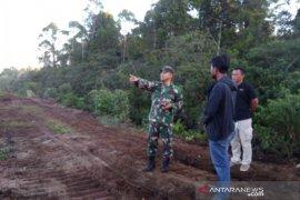 Kebakaran lahan gambut di Aceh Jaya sudah padam
