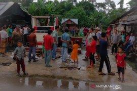 Pertamini di Aceh Utara terbakar, satu orang luka bakar