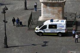 Spanyol laporkan 838 kematian  akibat corona dalam sehari