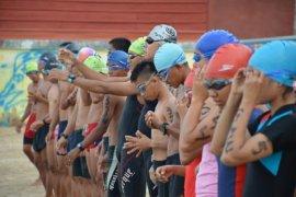 Cegah virus corona, panitia triathlon Sibolga cek kesehatan peserta