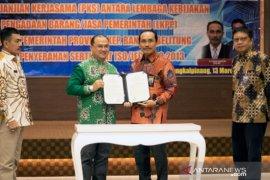 Gubernur Babel bersyukur Atas Penandatanganan MoU PKS Dengan LKPP
