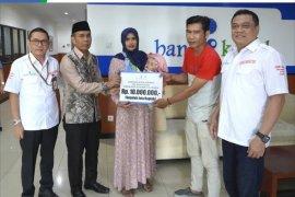 UPZ BANK Kalsel bantu biaya pengobatan penderita Hydrocephalus