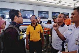 Kapolresta Kediri sidak  kesiapan stasiun cegah penularan virus corona