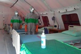 Siaga COVID-19, Korem 042/Gapu sediakan tenda isolasi