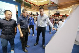 Kunjungi Samera Expo 2020, Menkumham Yasonna Laoly apresiasi putra daerah yang berkarya
