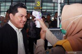 Upaya gencar Menteri BUMN lindungi kesehatan publik di sarana transportasi