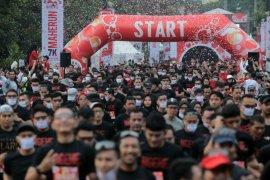 MaHe Run 2020 berjalan sebagian peserta bermasker