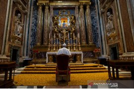 Paus Fransiskus sumbang 30 alat pernapasan ke sejumlah rumah sakit, lawan COVID-19