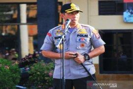 Kapolresta Banjarmasin ingatkan anggota tingkat keamanan jelang pilkada