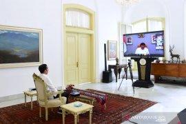 """Presiden Jokowi larang pemda ambil kebijakan """"lockdown"""""""