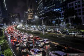 Gubernur DKI Jakarta Anies Baswedan kembali imbau dunia usaha untuk terapkan kerja dari rumah