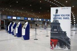 """Prancis kerahkan 100.000 polisi untuk menerapkan """"lockdown"""""""