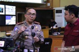 Polda Metro Jaya  catat penurunan arus kendaraan ke luar Jakarta