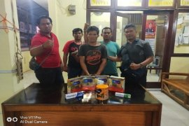 Polisi Binjai Barat ringkus pembobol swalayan Indomaret