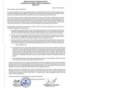 Ini imbauan PGI bagi umat Kristiani di Indonesia terkait wabah Covid-19