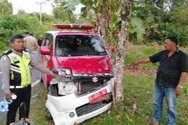Tiga kendaraan tabrakan di Raya, satu tewas