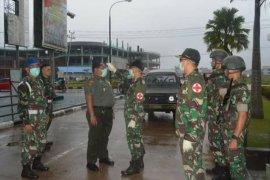 Kodam Tanjungpura berlakukan cek suhu tubuh bagi prajurit dan tamu