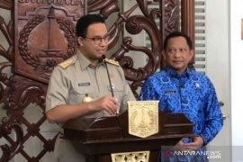 Mendagri Tito temui Anies Baswedan di Balai Kota