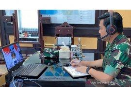 Panglima TNI-Presiden Jokowi video conference tanggulangi COVID-19