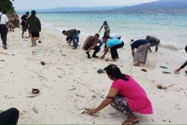 Fenomena ikan-ikan hidup terdampar di pantai Maluku Tengah, ini penjelasan KKP