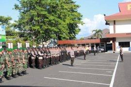 Sebanyak 402 personel gabungan TNI-Polri disiagakan di Musda Golkar