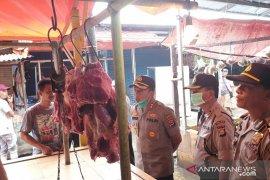 Antisipasi lonjakan harga sembako, Kapolres Serang pantau Pasar Ciruas