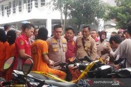 31 tersangka curanmor dalam dua pekan ditangkap Polres Bogor