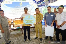 Bupati Resmikan Infratruktur Air Bersih dari Program PPM Perusahaan Tambang