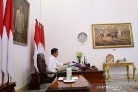 Presiden Jokowi dan Ibu Negara umumkan negatif Covid-19