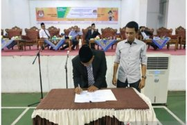 KPU Madina - BP JAMSOSTEK kerjasama lindungi penyelenggara Pilkada 2020