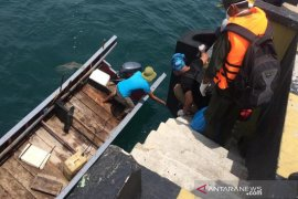 Kapal asing pengangkut CPO tiba di perairan Calang
